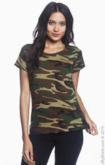 Ladies' Camouflage T-Shirt|Color