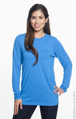 Adult Unisex Performance® 5 oz. Long-Sleeve T‑Shirt|Color