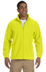 Men's 8 oz. Full-Zip Fleece|Color