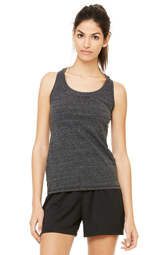 Ladies' Performance Triblend Racerback Tank|Color