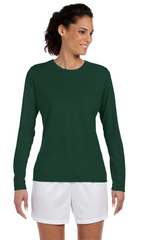 Ladies' Performance® 5 oz. Long-Sleeve T‑Shirt|Color