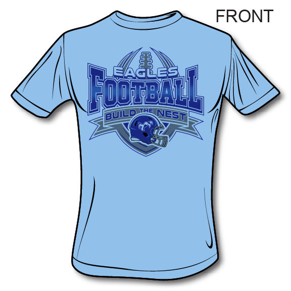 Chapin Eagles Football - Gildan Adult Softstyle®  4.5 oz. T-Shirt