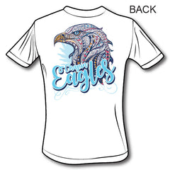 Chapin Eagles - Gildan Adult Unisex Ultra Cotton® 6 oz. Pocket T-Shirt