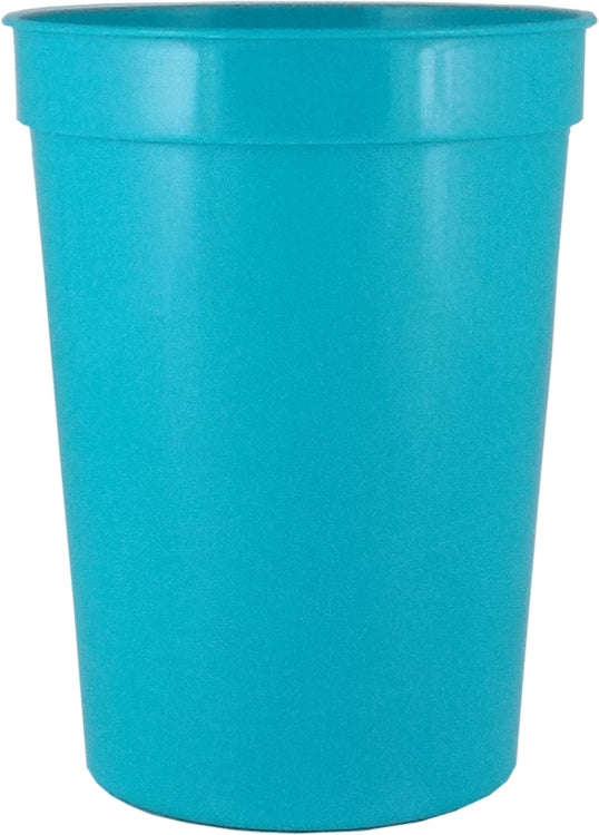12 oz. Smooth Plastic Stadium Cup|Cup Colors