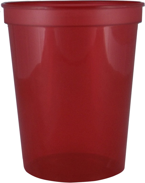 16 oz. Smooth Wall Plastic Stadium Cup|Cup Colors