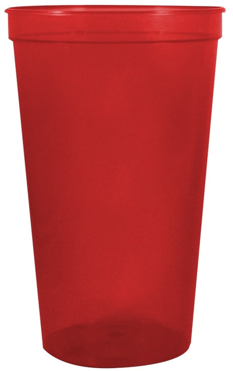 22 oz. Smooth Wall Plastic Stadium Cup|Cup Colors