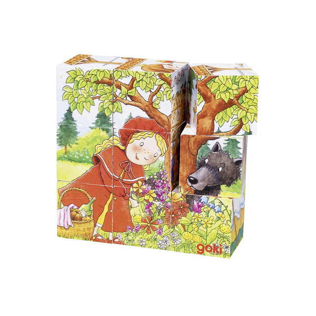 Goki, Cube  Red Ridding Hood Puzzle