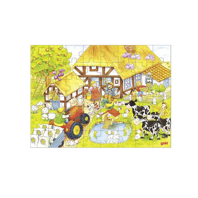 Goki, Granny and Granddad's Farm Puzzle