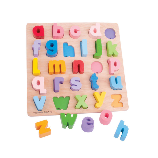Bigjigs - ABC Puzzle - Lowercase