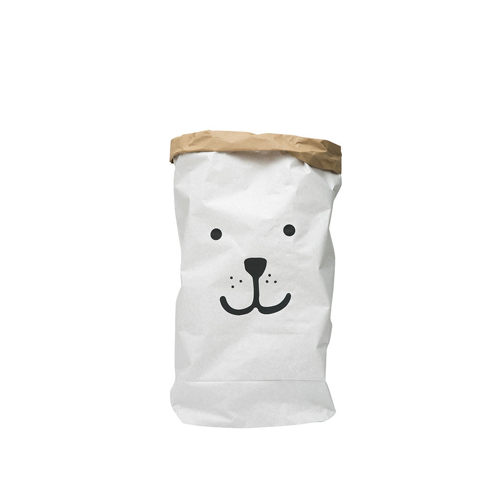 Tellkiddo, Paper Bag, Bear Face