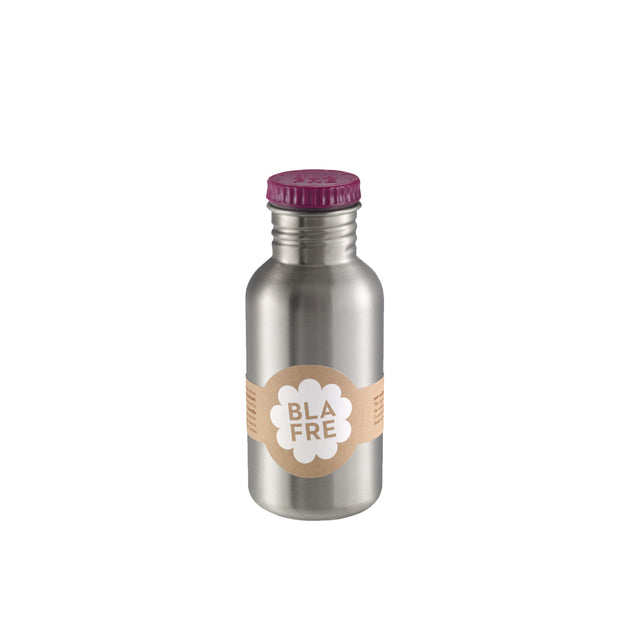 Blafre, Steel Bottle 500 ml - Plum Red