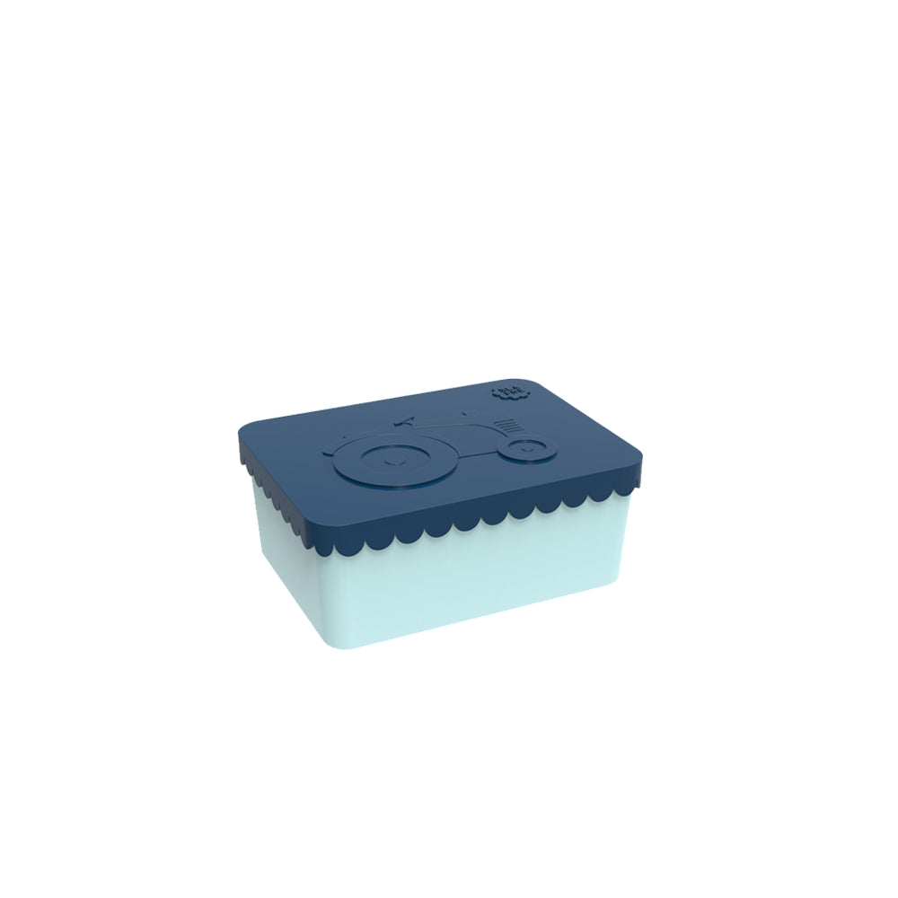 Lunchbox - Tractor Square - Dark Blue