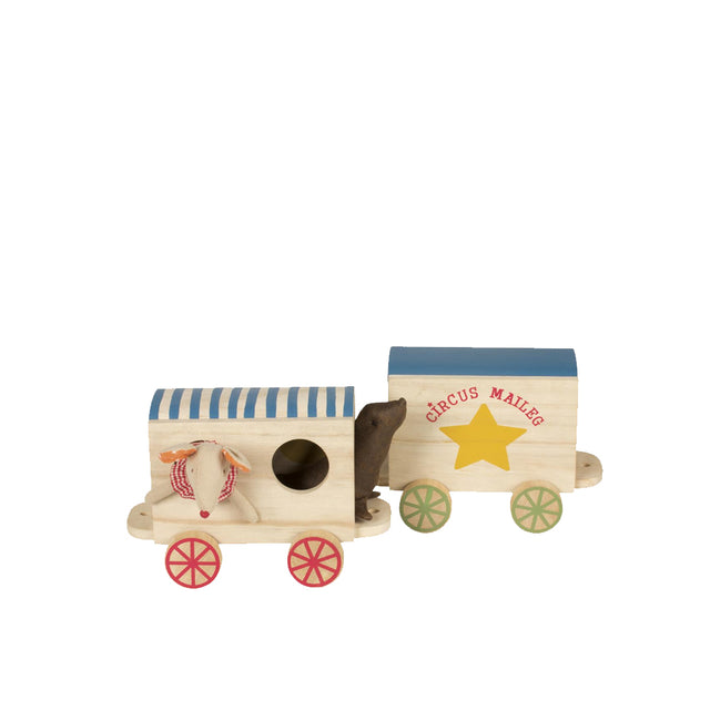 Maileg, Wooden Circus Wagons