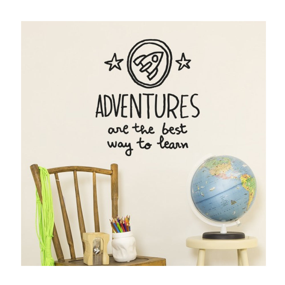 Chispum, Adventures are the best way to learn Wall Sticker