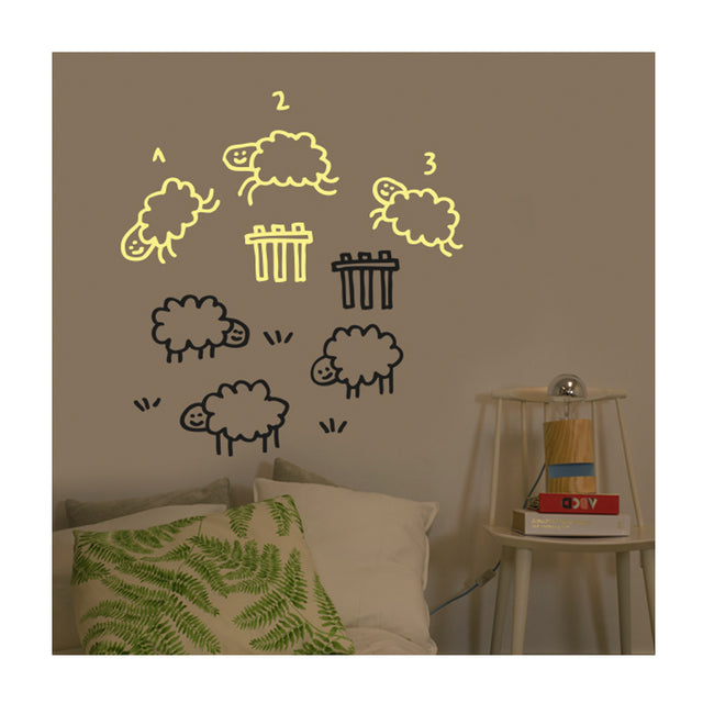 Chispum, Counting Sheep Wall Sticker