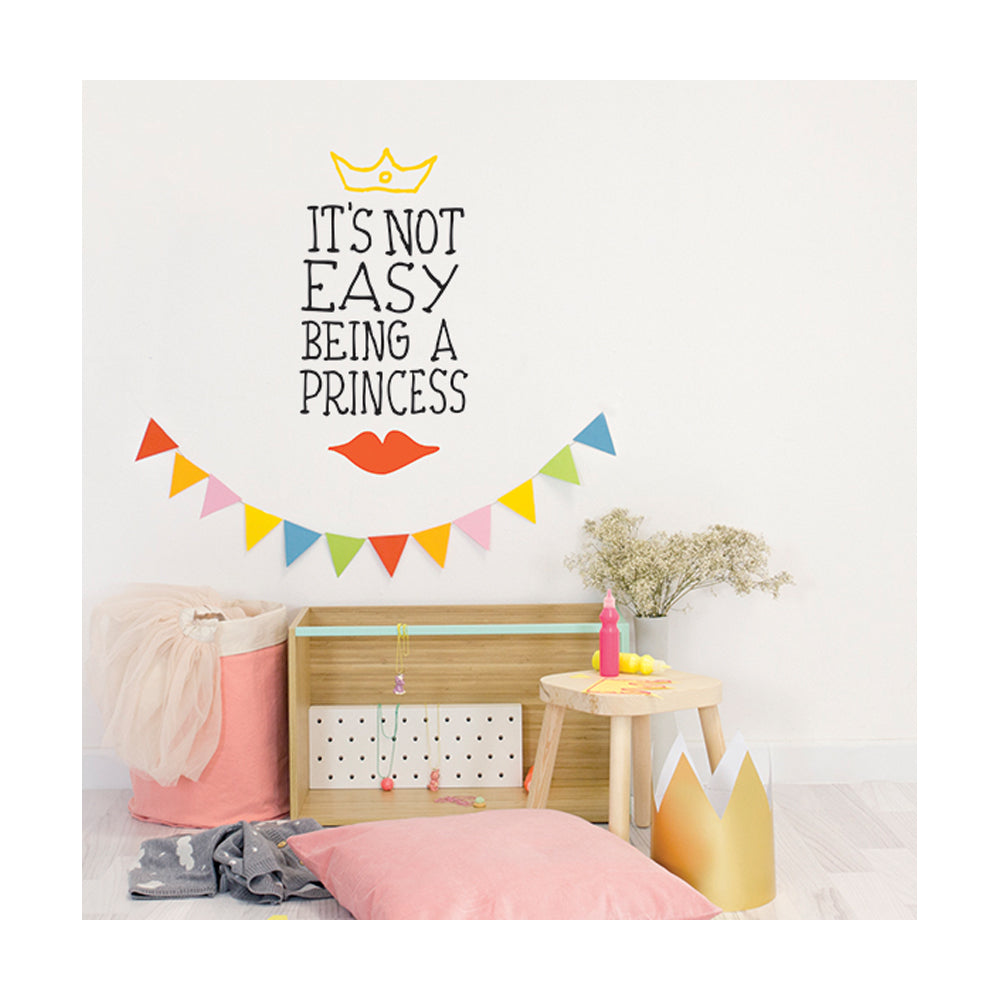 Chispum, It's not easy being a princess Wall Sticker