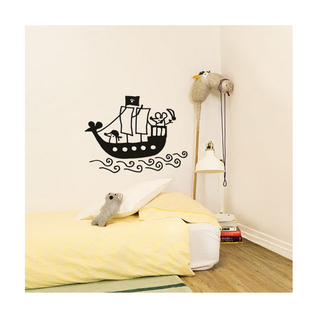 Chispum, Pirate Ship Wall Sticker
