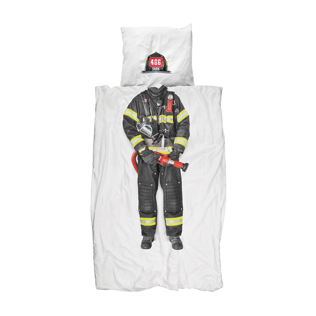 Snurk - Kids Duvet Cover Set - Firefighter
