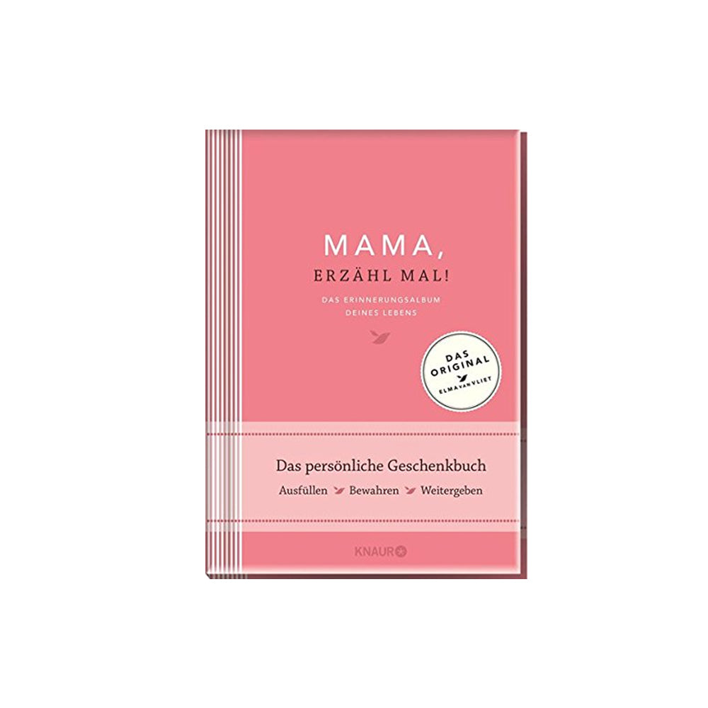 Elma van Vliet, Give and Get Back Book - Mama erzähl mal