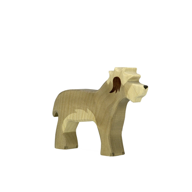 Wooden Animal - Old English sheepdog