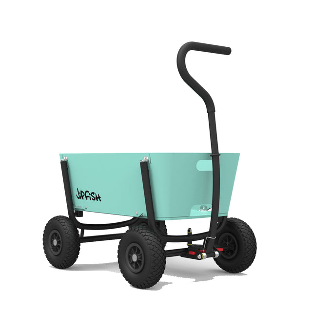 Jipfish, Aqua Blue Foldable Wagon