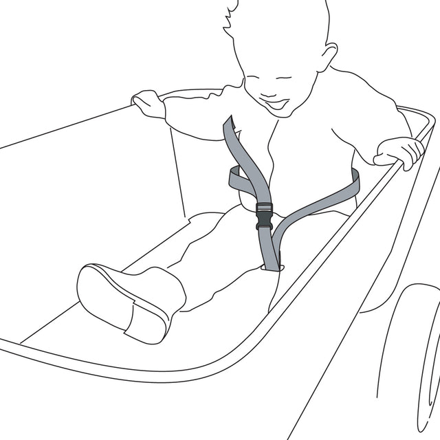 Foldable Wagon - Safety Belt