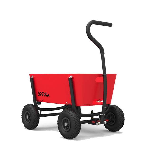Jipfish, Bright Red Foldable Wagon
