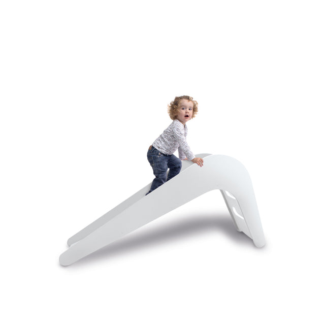 Kids Slide - White