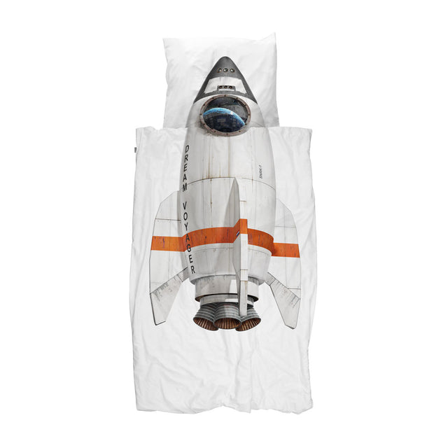 Snurk - Kids Duvet Cover Set - Rocket