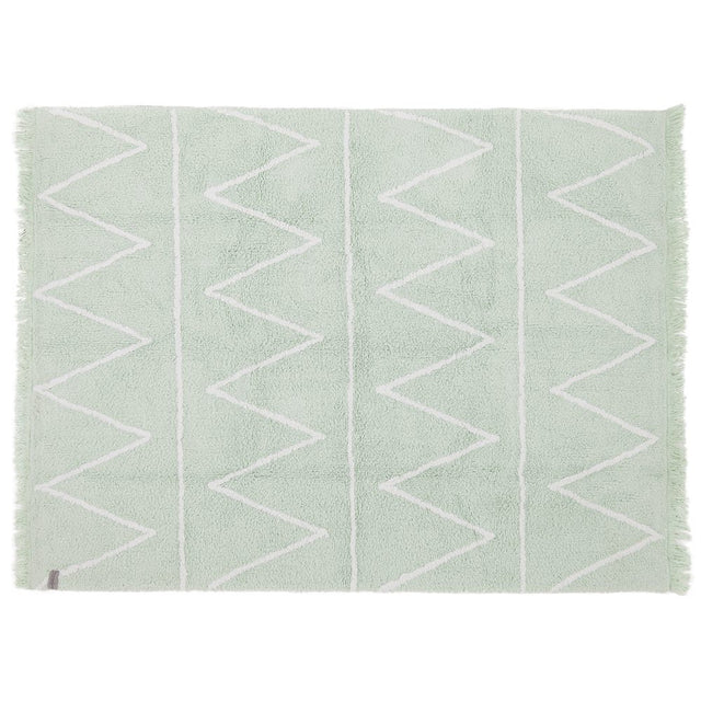 Washable Rug - Hippy - Mint