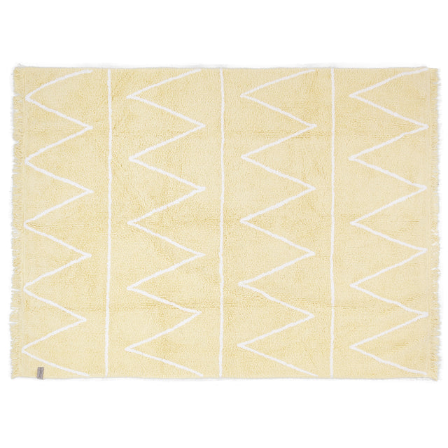 Washable Rug - Hippy - Yellow