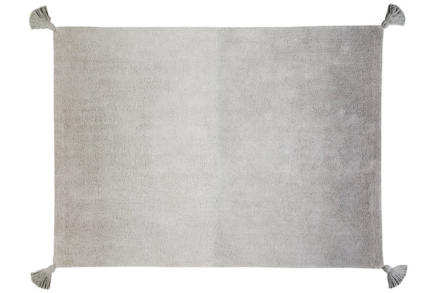 Washable Rug - Degrade Ombre - Grey/Dark Grey