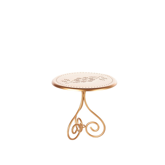 Vintage Coffee Table Gold - 13 cm