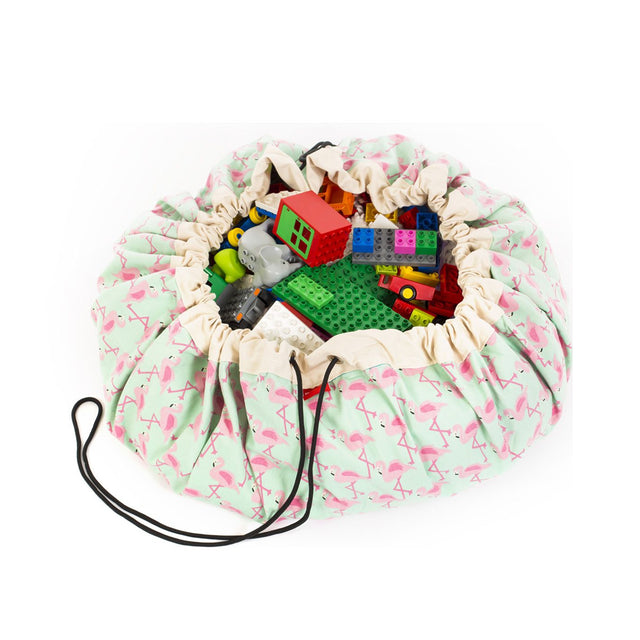 Play&Go - Toy Storage Bag - Flamingo