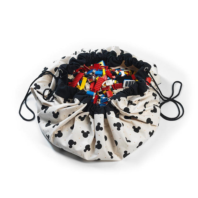 Play&Go - Toy Storage Bag - Mickey Black