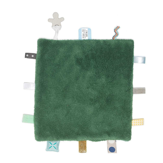 Snooze Baby - Comfort Blanket - Sweet Dreaming - Forest Green