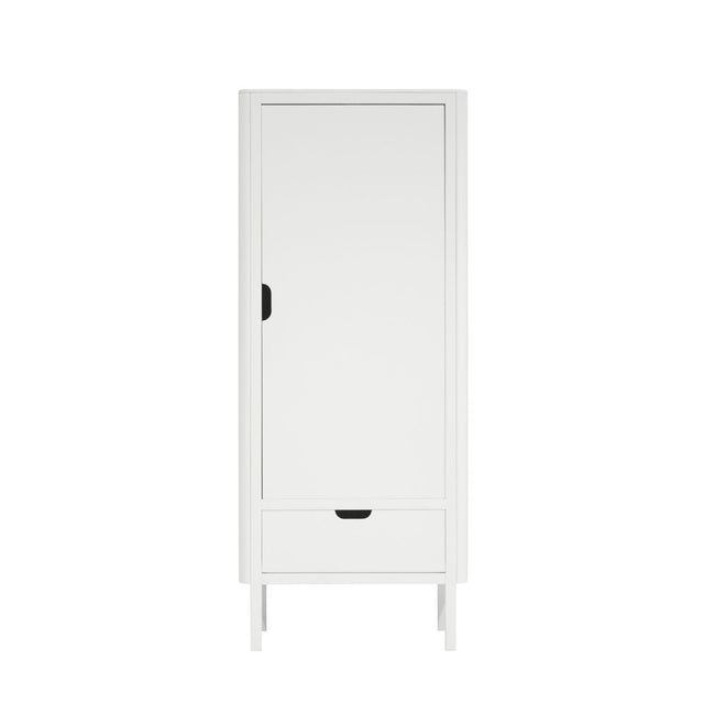 Sebra - Wardrobe - The Sebra Wardrobe - Single Door - White