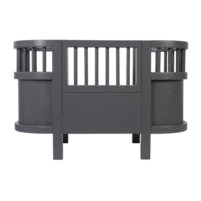 Sebra, The Sebra Dolls Bed - Grey