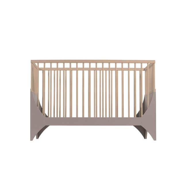 Sebra - Baby Cot - Yomi Bed - Earth Brown/Beech
