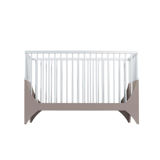 Sebra - Baby Cot - Yomi Bed - Earth Brown/White