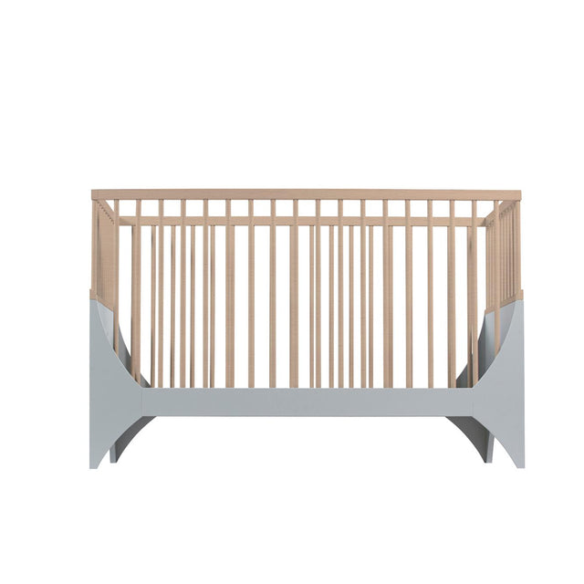 Sebra - Baby Cot - Yomi Bed - Moon Grey/Beech