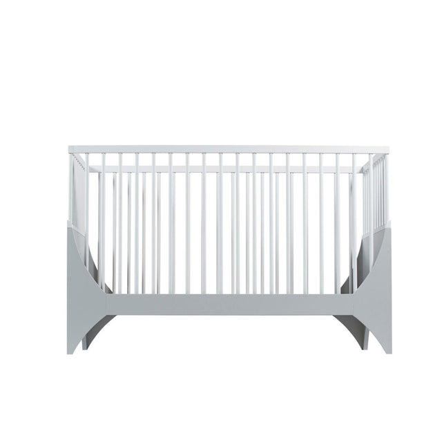 Sebra - Baby Cot - Yomi Bed - Moon Grey/White