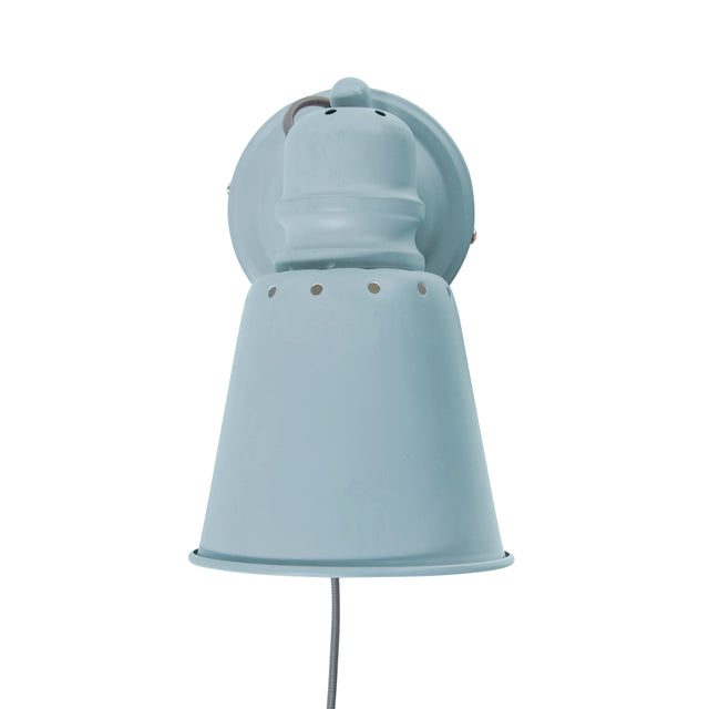 Sebra, Metal Wall Lamp - Cloud Blue