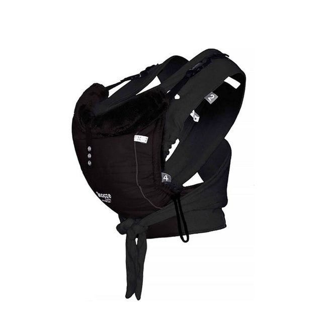 Snooze Baby - Baby Carrier - Kiss and Carry - All Black
