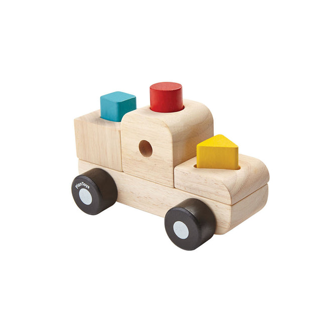 Plan Toys, Sorting Truck Puzzle