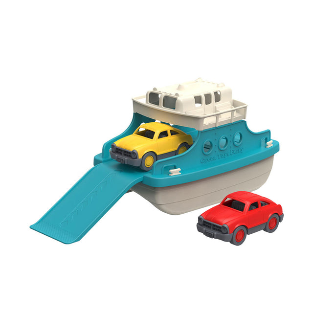 Green Toys, Ferry Boat with Mini Cars