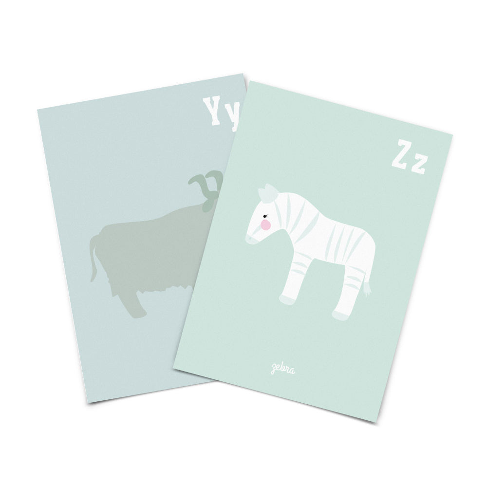 Eef Lilemor, Animal alphabet cards