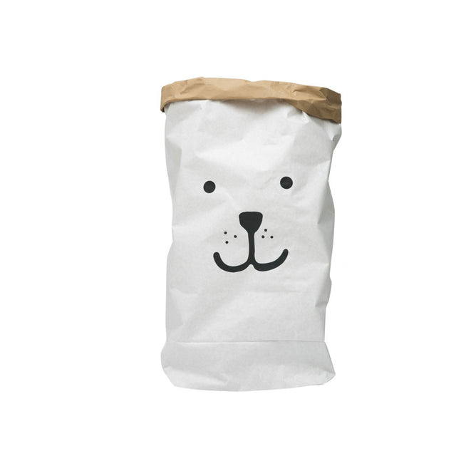 Paper Bag, Bear Face