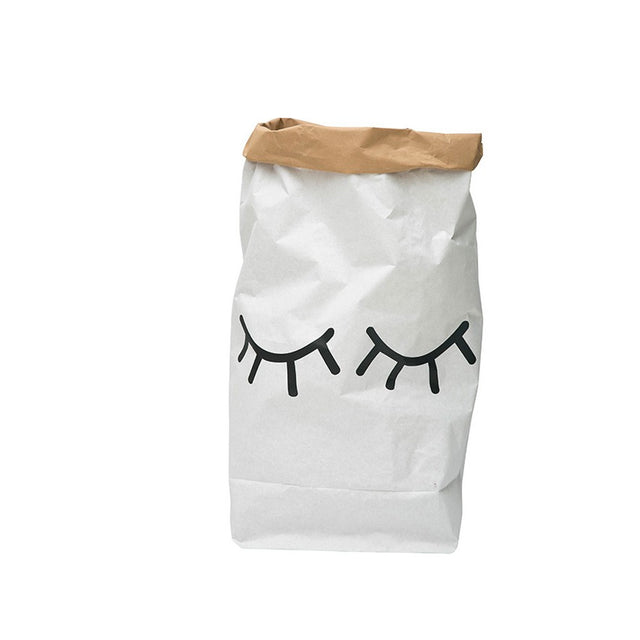 Paper Bag, Closed Eyes