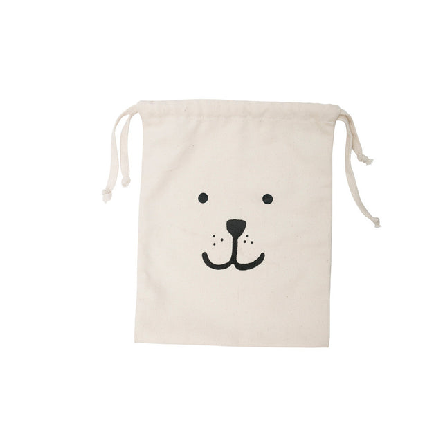 Tellkiddo - Cotton Bag, Bear Face